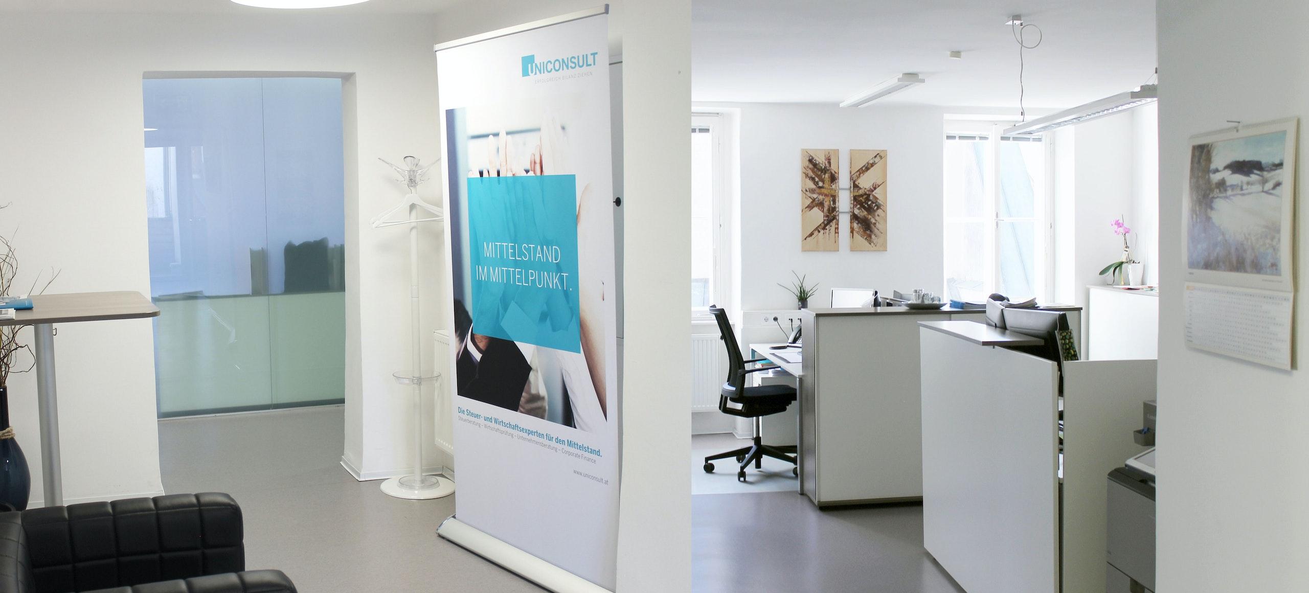 Unser Büro am UNICONSULT Standort Freistadt